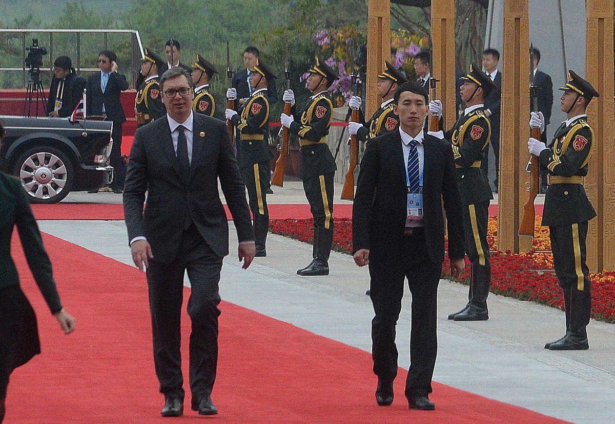 Predsednik Vučić na Drugom forumu za međunarodnu saradnju