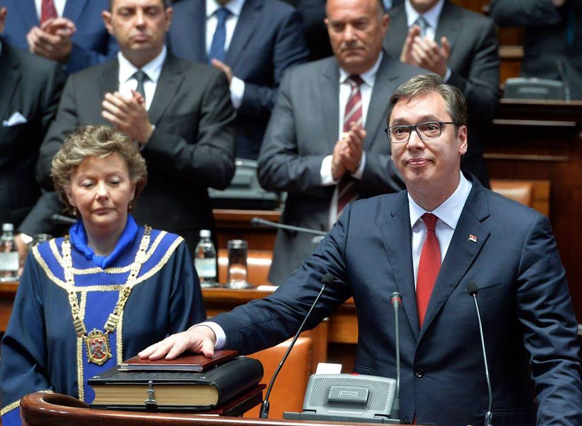 Predsednik Vučić položio zakletvu