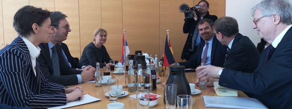 Састанак са посланицима Бундестага у Берлину