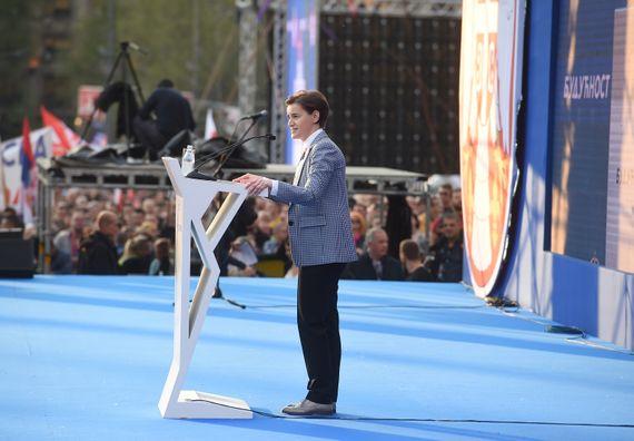 Predsednik Vučić u Beogradu u okviru kampanje