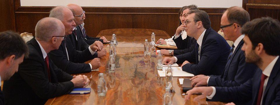 """Sastanak sa predstavnicima nemačke kompanije """"MTU Aero Engines AG"""""""