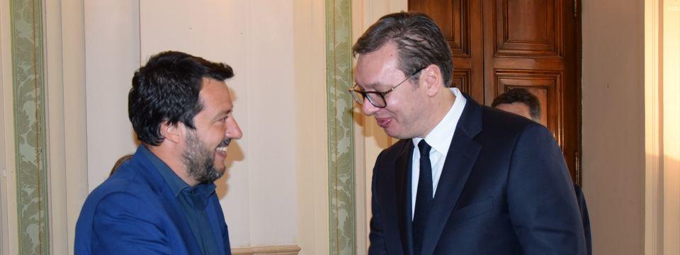 Sastanak sa potpredsednikom Vlade i ministrom unutrašnjih poslova Republike Italije