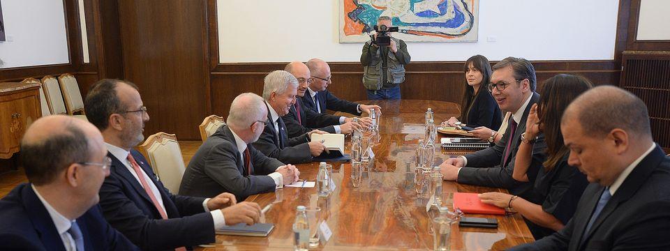 Састанак са амбасадорима земаља Квинте