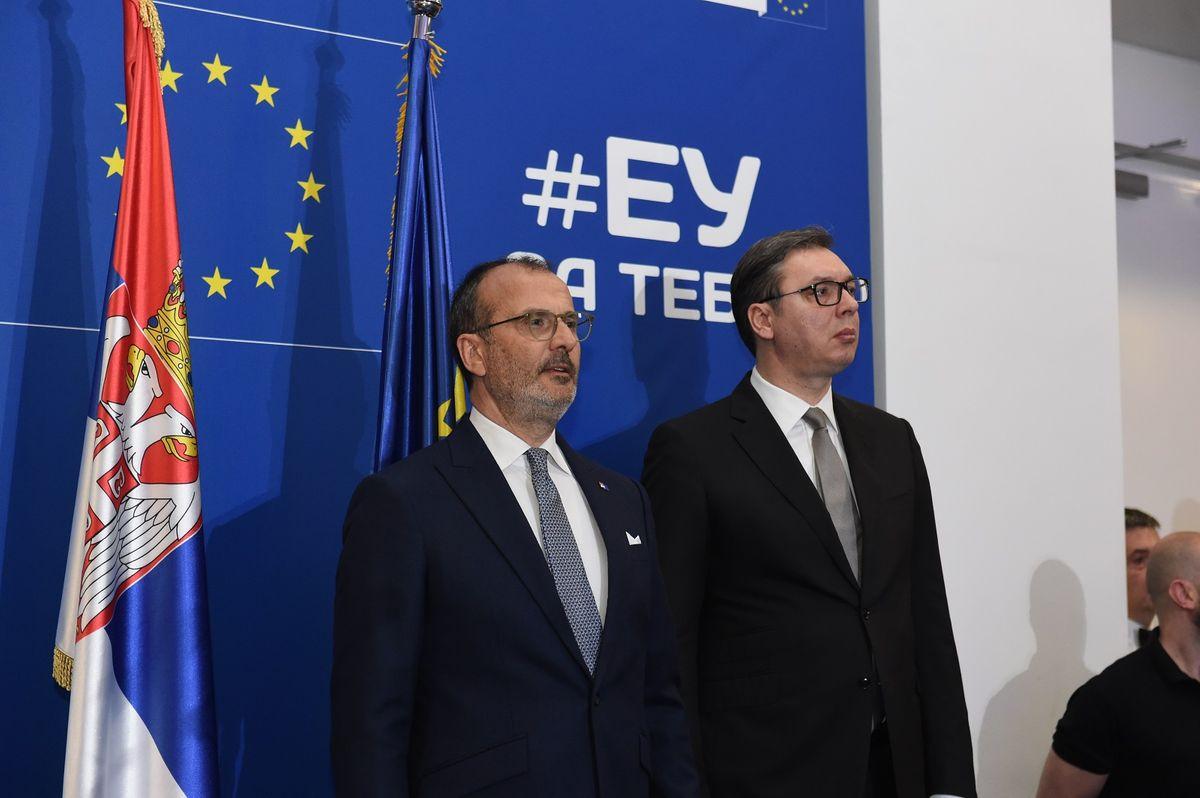 Председник Вучић на свечаном пријему поводом Дана Европе