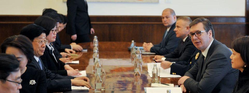 Састанак са државним секретаром и министром јавне безбедности Народне Републике Кине Џао Кеџијем