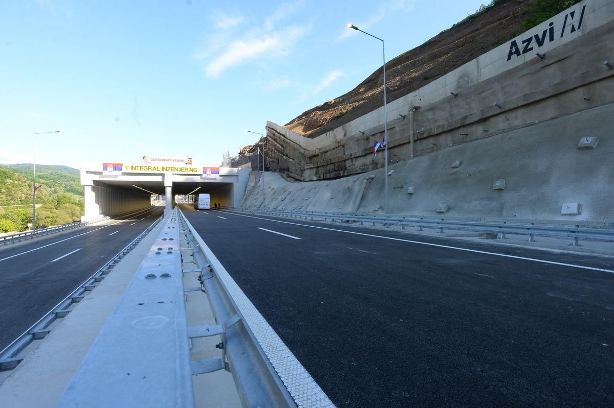 Otvaranje južnog Kraka Koridora 10, na trasi kroz Grdeličku klisuru