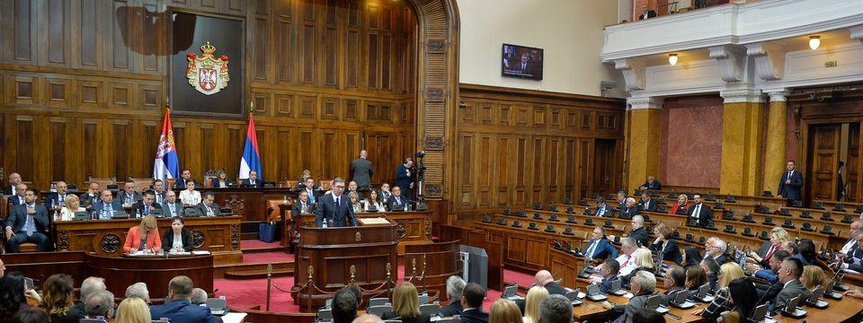 Govor predsednika Republike Srbije Aleksandra Vučića u Narodnoj Skupštini Republike Srbije 27.05.2019. godine