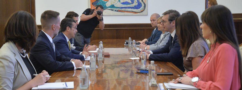 Sastanak sa šefom misije OEBS u Srbiji