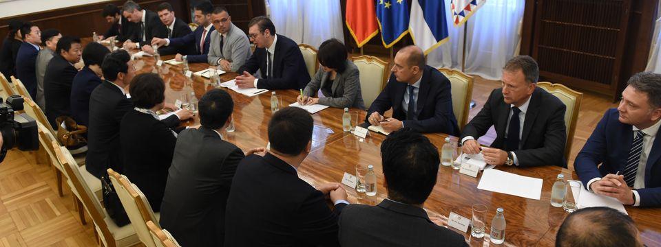 Sastanak sa delegacijom Svekineske federacije za industriju i trgovinu