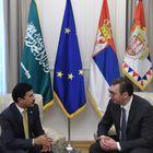 Predsednik Vučić sastao se sa ambasadorom Kraljevine Saudijske Arabije