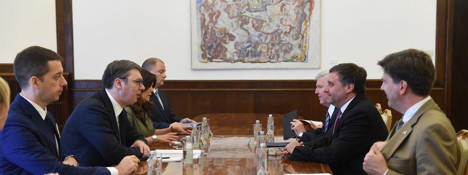 Sastanak sa zamenikom pomoćnika državnog sekretara Sjedinjenih Američkih Država