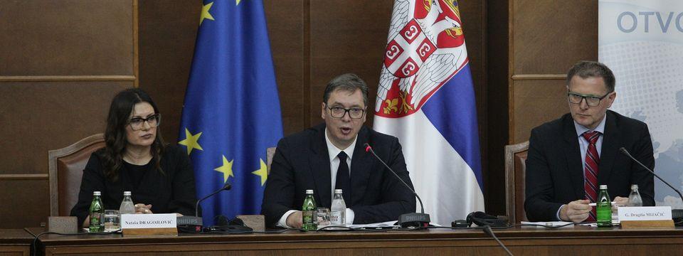 Председник Вучић на Седмој пленарној седници Националног конвента о Европској унији