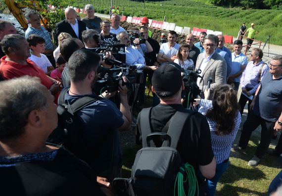 Predsednik Aleksandar Vučić posetio Krupanj