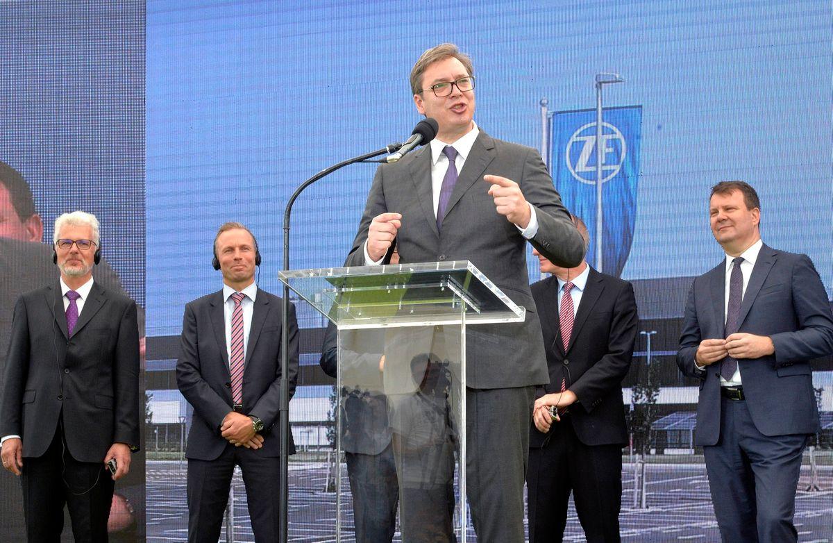 Predsednik Vučić prisustvovao svečanom otvaranju fabrike kompanije