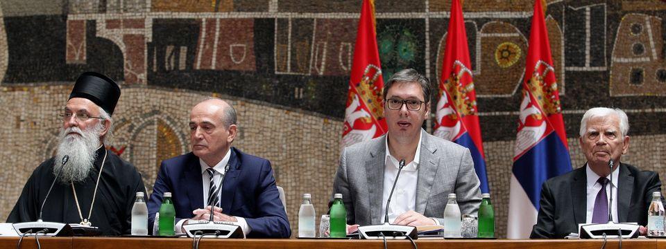 Predsednik Vučić prisustvuje konstitutivnoj sednici povodom formiranja Nacionalnog tima za preporod sela Srbije