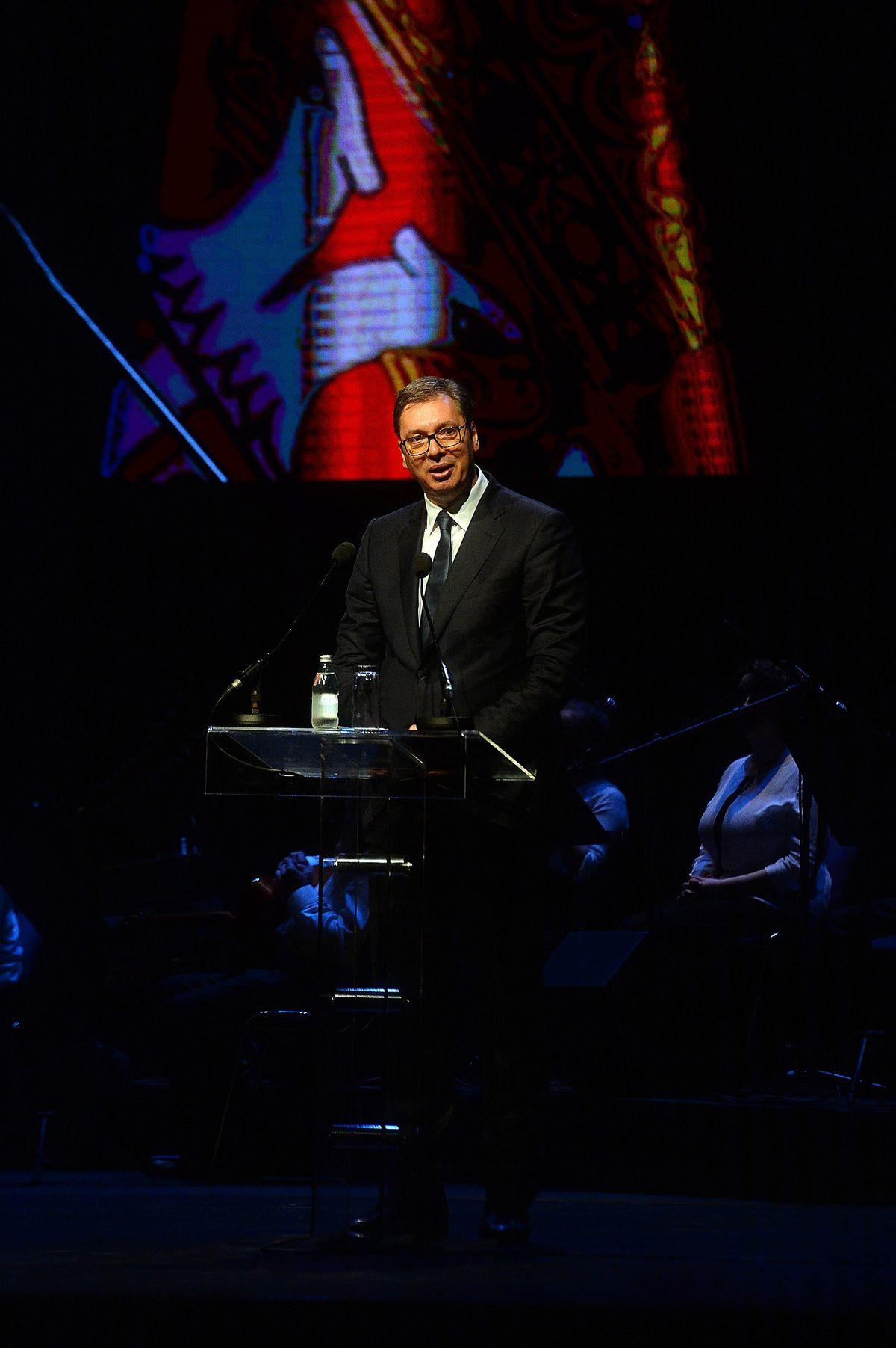 Predsednik Vučić prisustvovao je svečanoj akademiji povodom obeležavanja 20-godišnjice bitke na Košarama