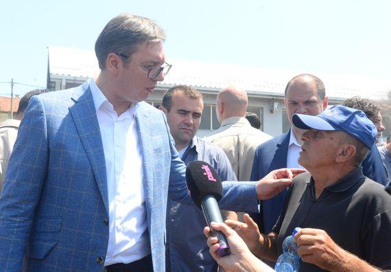 Председник Републике Србије Александар Вучић обиласком Зајечарског округа наставио је кампању
