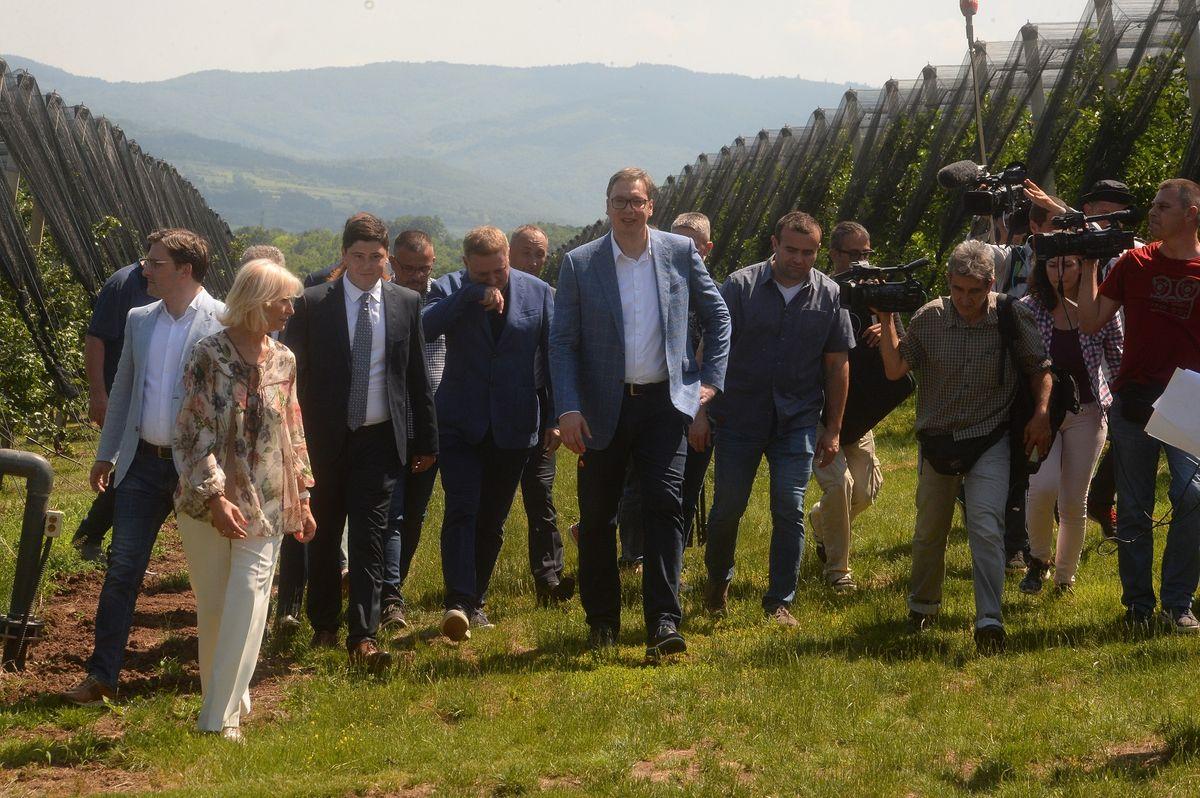 Председник Вучић обишао Зајечарски округ у оквиру кампање