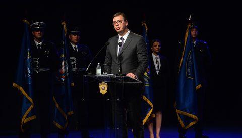 Председник Вучић присуствује централној манифестацији поводом прославе Дана МУП и Дана полиције