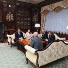 Predsednik Republike Srbije Aleksandar Vučić razgovarao je danas u Minsku, boraveći u dvodnevnoj zvaničnoj poseti Belorusiji, sa predsednikom Aleksandrom Lukašenkom.