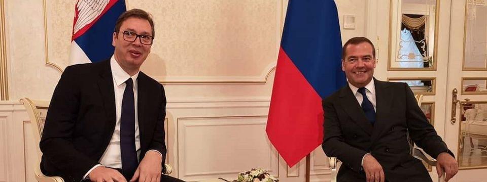 Sastanak sa predsednikom Vlade Ruske Federacije