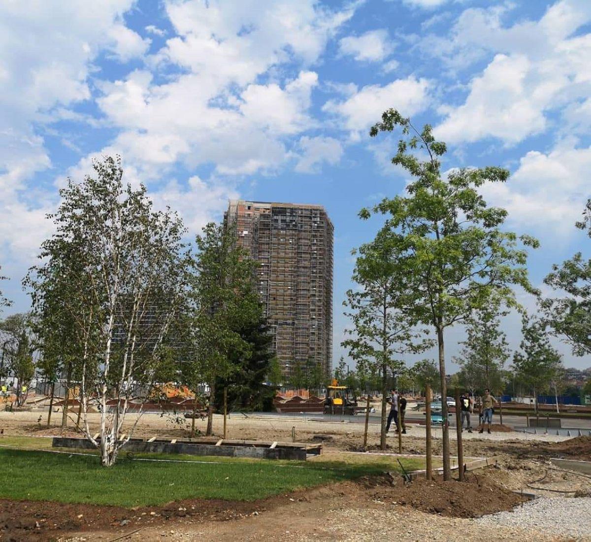 Predsednik Vučić obišao radove na parku u okviru projekta Beograd na vodi