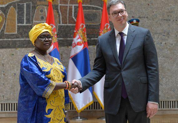 Predsednik Vučić primio akreditivna pisma novoimenovanih ambasadora