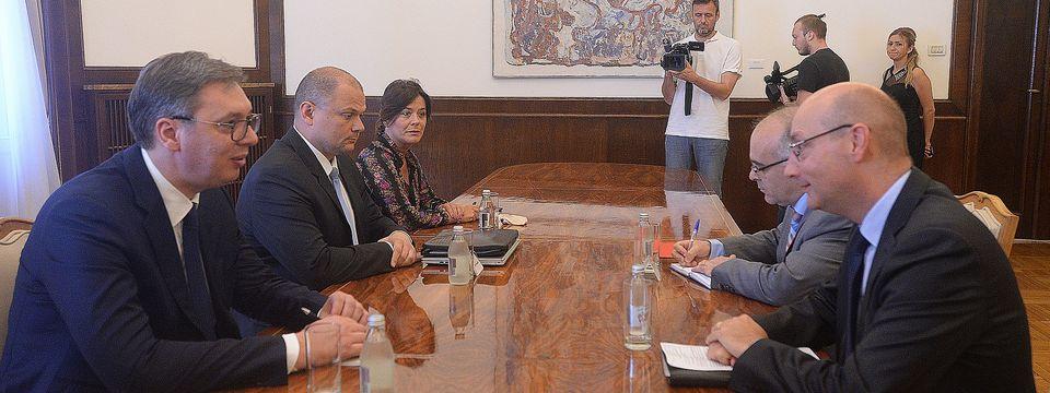 Састанак са амбасадором Француске Републике