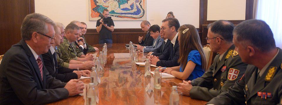 Састанак са делегацијом министарстaва одбране Руске Федерације и Републике Белорусије