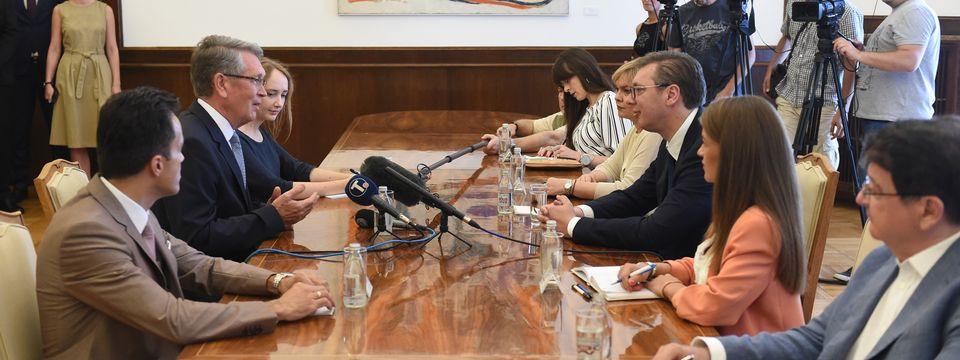 Oproštajna poseta ambasadora Ruske Federacije Aleksandra Čepurina