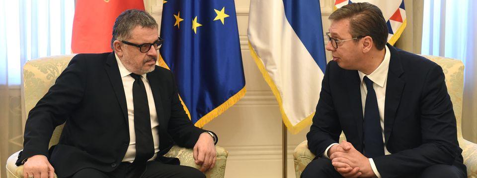 Опроштајна посета амбасадора Црне Горе