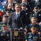 """Predsednik Vučić prisustvovao ceremoniji zatvaranja međunarodne vežbe """"SRBIJA 2019"""""""
