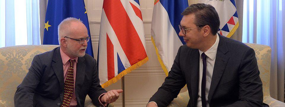 Опроштајна посета амбасадора Уједињеног Краљевства