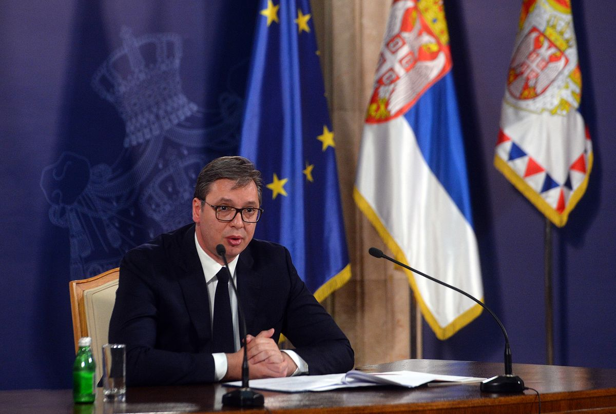 Обраћање председника Вучића јавности поводом ситуације на Косову и Метохији