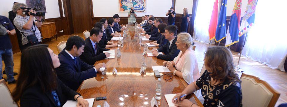 Састанак са делегацијом ХБИС Групе