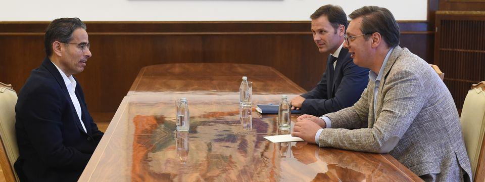 """Састанак са директором компаније  """"Игл Хилс"""""""
