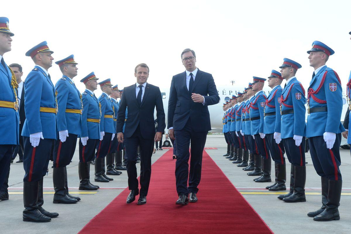 Званична посета председника Републике Француске