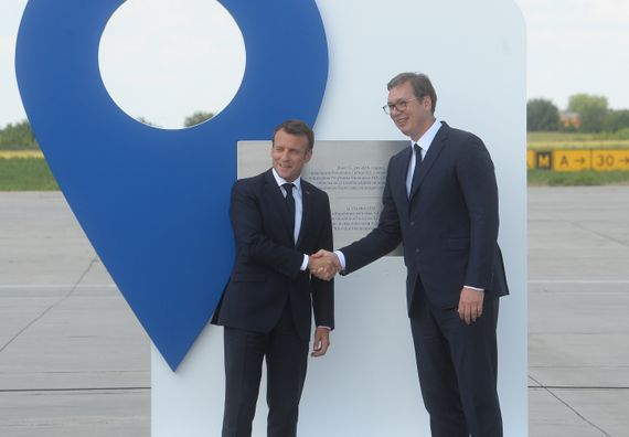 Zvanična poseta predsednika Republike Francuske