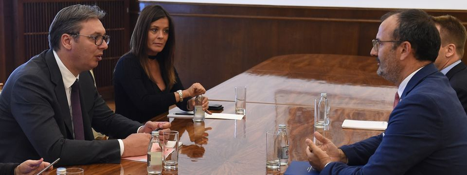 Sastanak sa  šefom delegacije Evropske unije