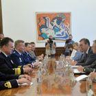 Састанак са командантом америчких војних снага у Европи