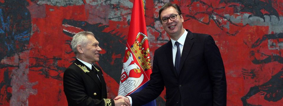 Predsednik Vučić primio akreditivno pismo novoimenovanog ambasadora Ruske Federacije