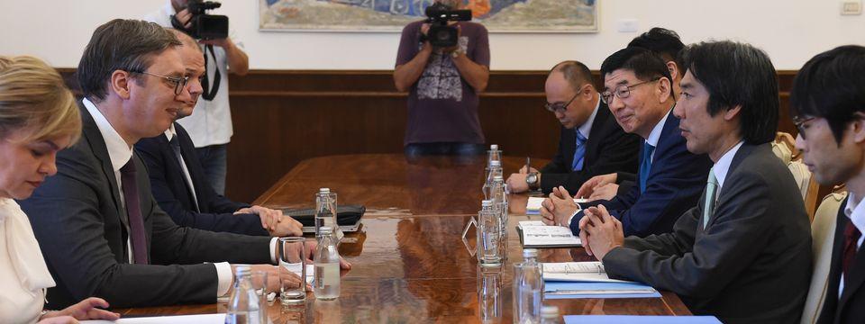 Sastanak sa japanskim državnim sekretarom za zaštitu životne sredine
