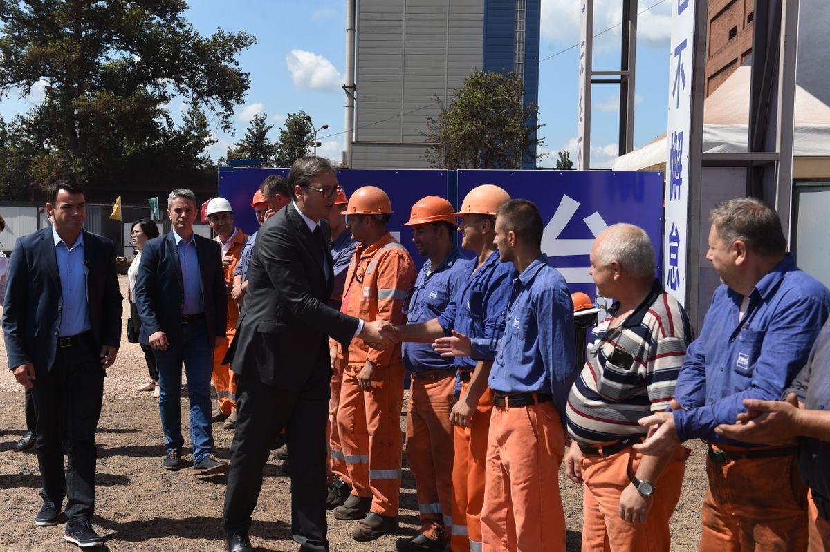 Polaganje kamena temeljca za izgradnju novog postrojenja Aglomeracije kompanije HBIS GROUP Serbia