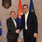Састанак са европским комесаром за суседску политику и преговоре о проширењу