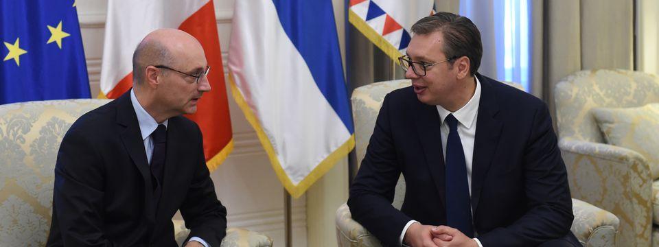 Oproštajna poseta ambasadora Republike Francuske