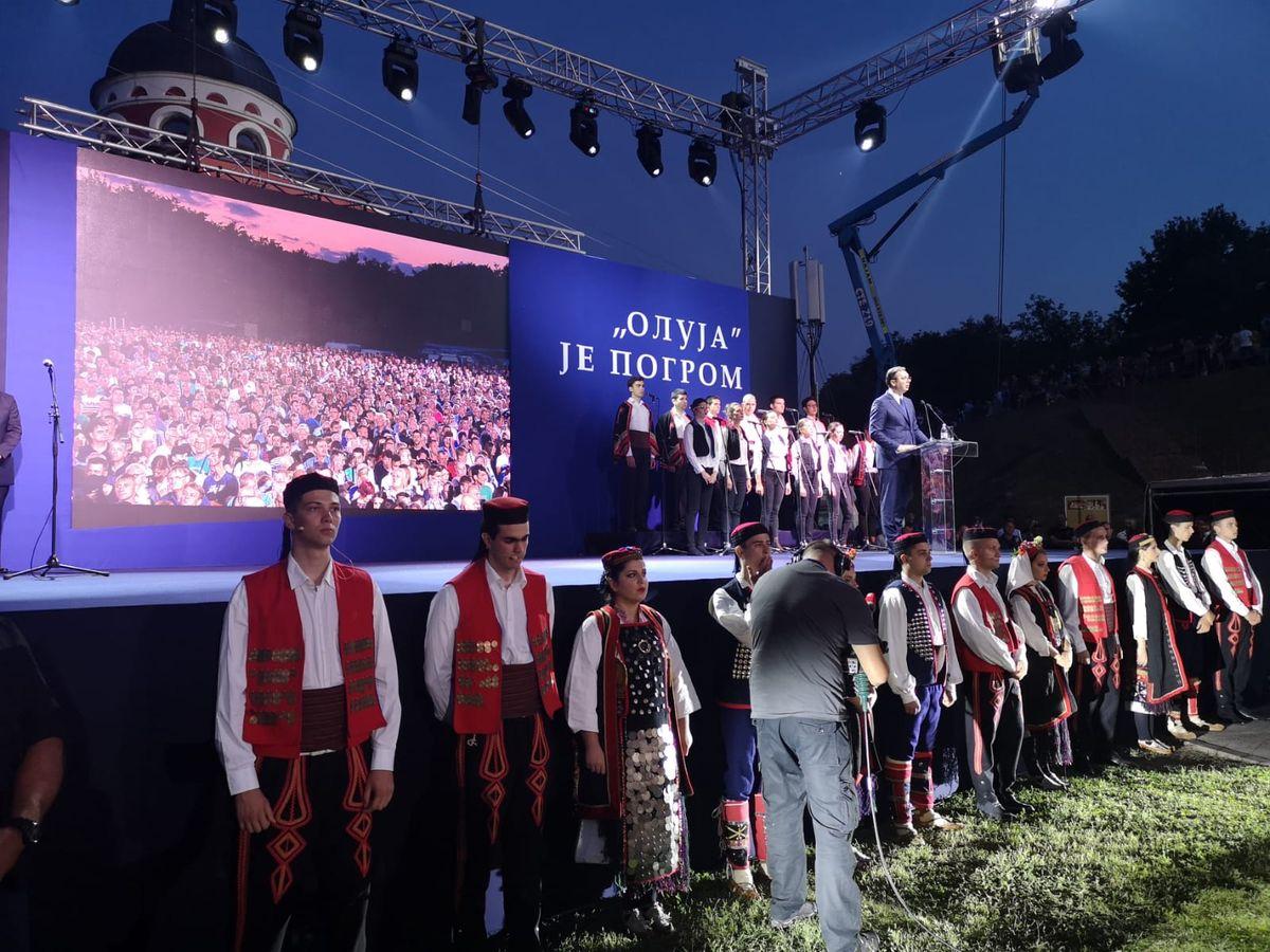 Obeležavanje Dana sećanja na sve stradale i prognane Srbe u oružanoj akciji