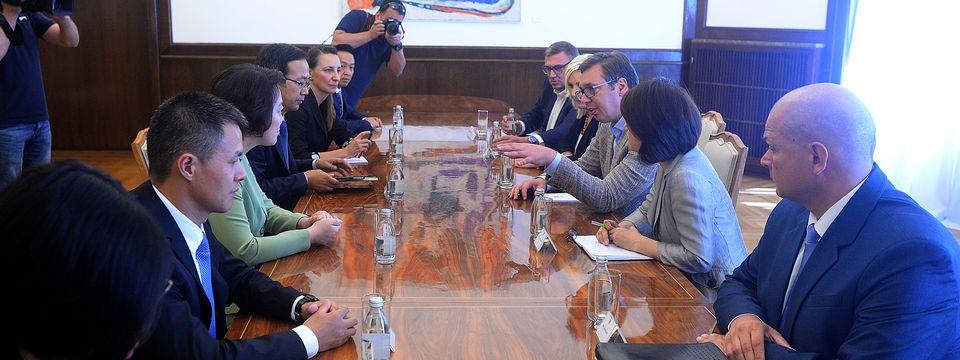Састанак са представницима кинеске компаније CRBC