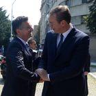 Састанак са председником Владе Републике Словеније Марјаном Шарецом