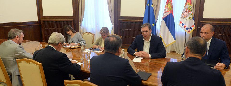 Састанак са са делегацијом Европског парламента
