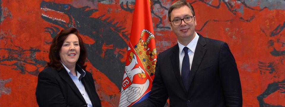 Нова амбасадорка Босне и Херцеговине предала акредитивна писма председнику Вучићу